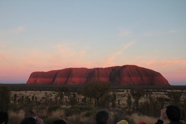 Uluru - sunsurise